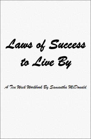 Laws Of Success To Live By